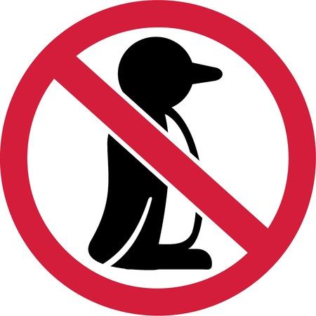 forbidden: Penguins forbidden Illustration