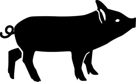 young pig: Young pig Piglet Illustration