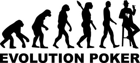 evolucion: evolución de póquer