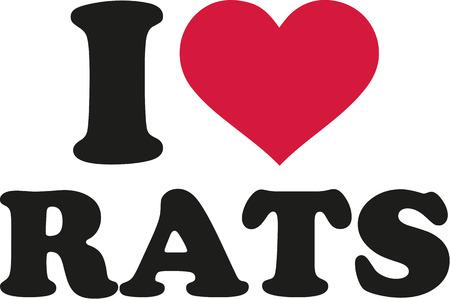 rat: I love rats