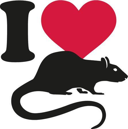 rat: I love rat