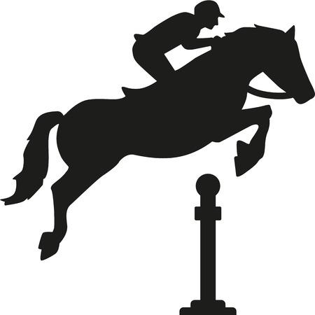 cavallo che salta: Cavallo che salta gli ostacoli
