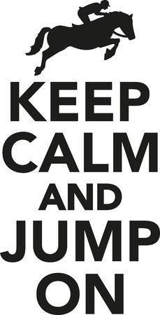 jump: Keep calm and jump on