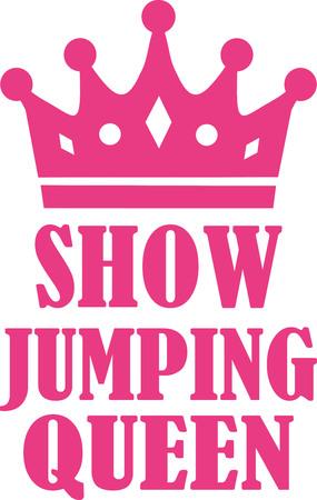 show jumping: Show jumping queen