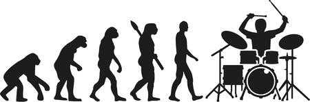 darwin: Drum kit player evolution