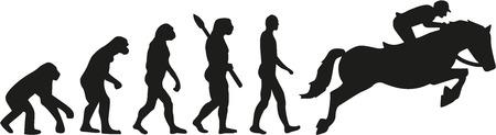 Evolution show jumping