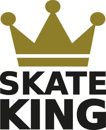 skate: Skate king Illustration
