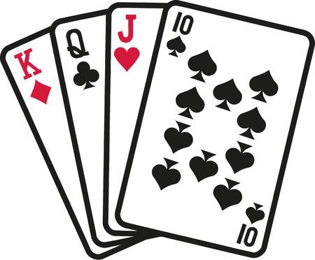 skat: Skat cards Illustration