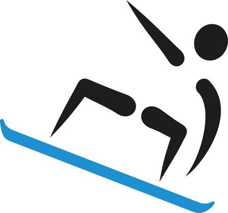 snowboarder: Snowboarder icon