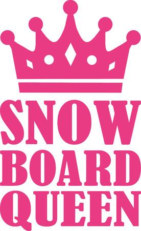 queen: Snowboard queen