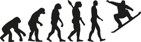 jumping monkeys: Evolution snowboard