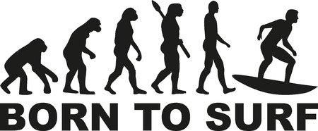 darwin: Surfing evolution - born to surf