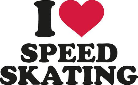 speed skating: I love speed skating