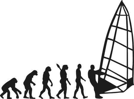 darwin: Windsurfing evolution