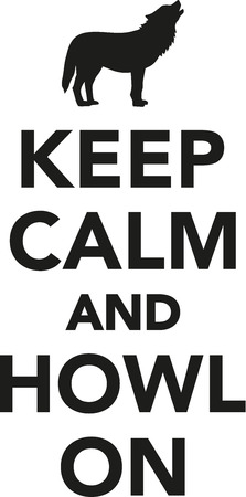 keep: Keep calm and howl on