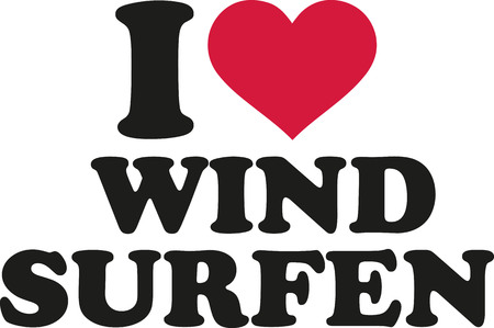 windsurfing: Me encanta el windsurf (alemán)