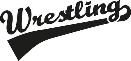 602 wrestling logo stock vector illustration and royalty free rh 123rf com wrestling logos designs wrestling logo vector