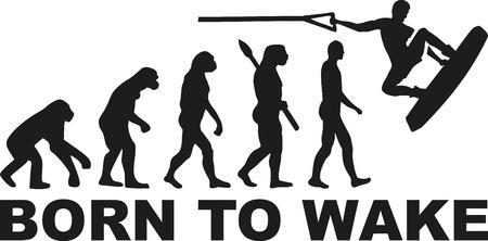 Born to wake wakeboarding