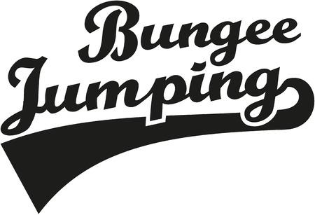 bungee jumping: Bungee palabra que salta