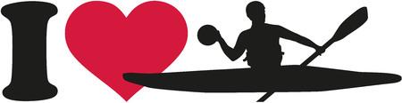 polo: I love canoe polo player