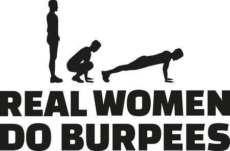 aerobic training: Real women do burpees