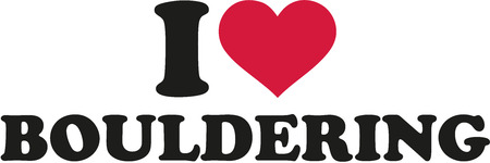 bouldering: I love bouldering