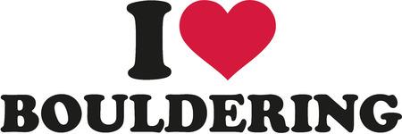 clambering: I love bouldering