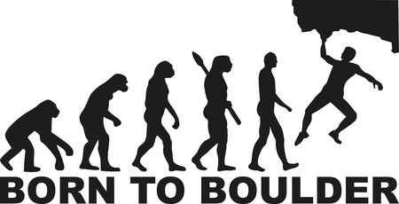 clambering: Born to boulder evolution