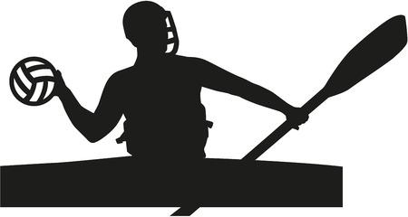 polo: Canoe polo player