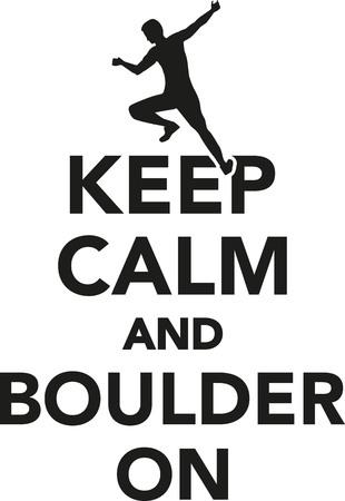boulder: Keep calm and boulder on