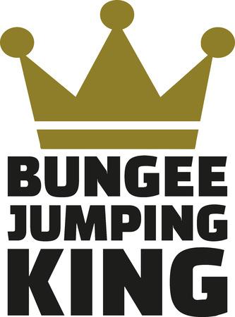 bungee jumping: Bungee rey saltando
