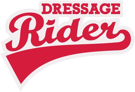 dressage: Dressage rider word