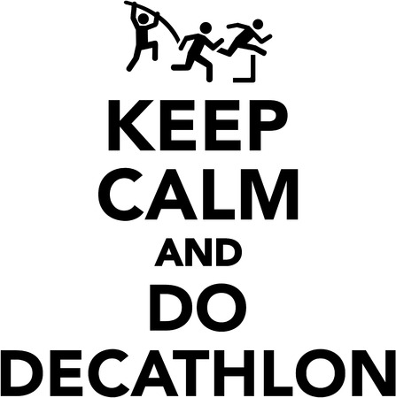 pentathlon: Keep calm and do decathlon