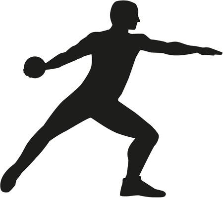 discus: Discus thrower