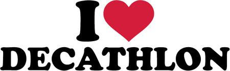shot put: I love Decathlon