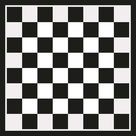 draughts: Black checkerboard