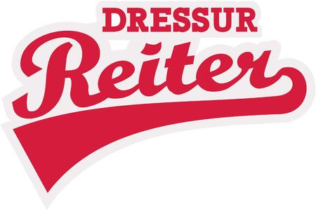 dressage: Dressage rider word german