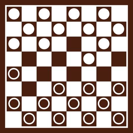 checkers: Checker beard with checkers