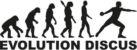discus: Evolution discus throw