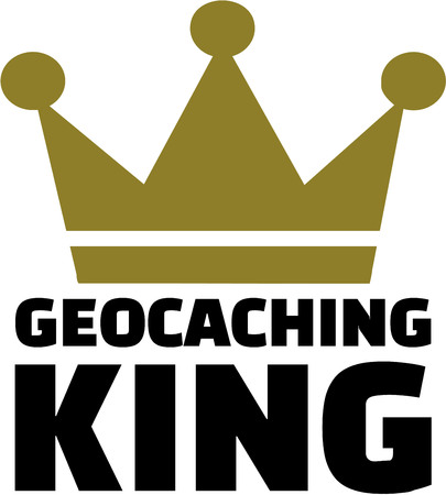 coordinates: Geocaching king