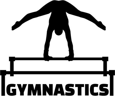 uneven: Gymnastics with uneven bars