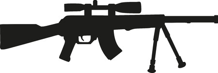 pictogram people: Airsoft gun
