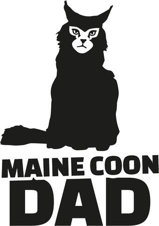 maine: Maine coon dad