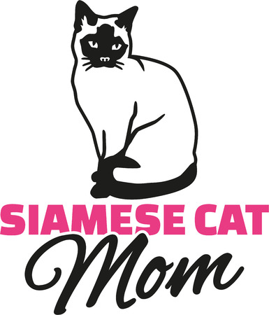 siamese cat: Siamese cat mother
