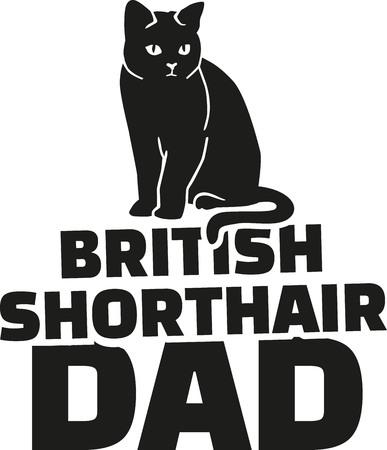 Brits Korthaar papa