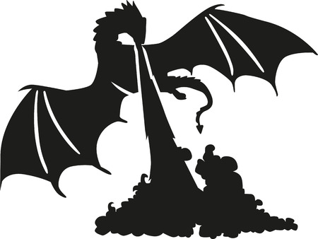 Dragon ademhalingsbrand