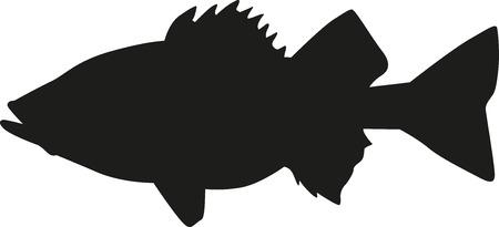 perch: Perch silhouette