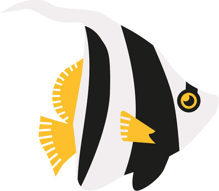 butterflyfish: Pennant coralfish butterflyfish