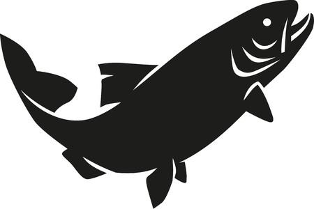 trout: Trout silhouette