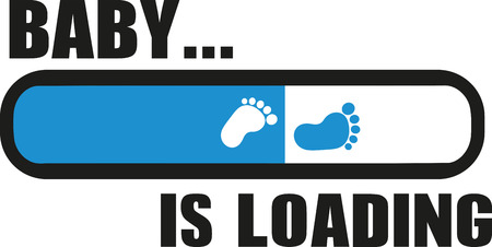 Baby is Loading with download bar